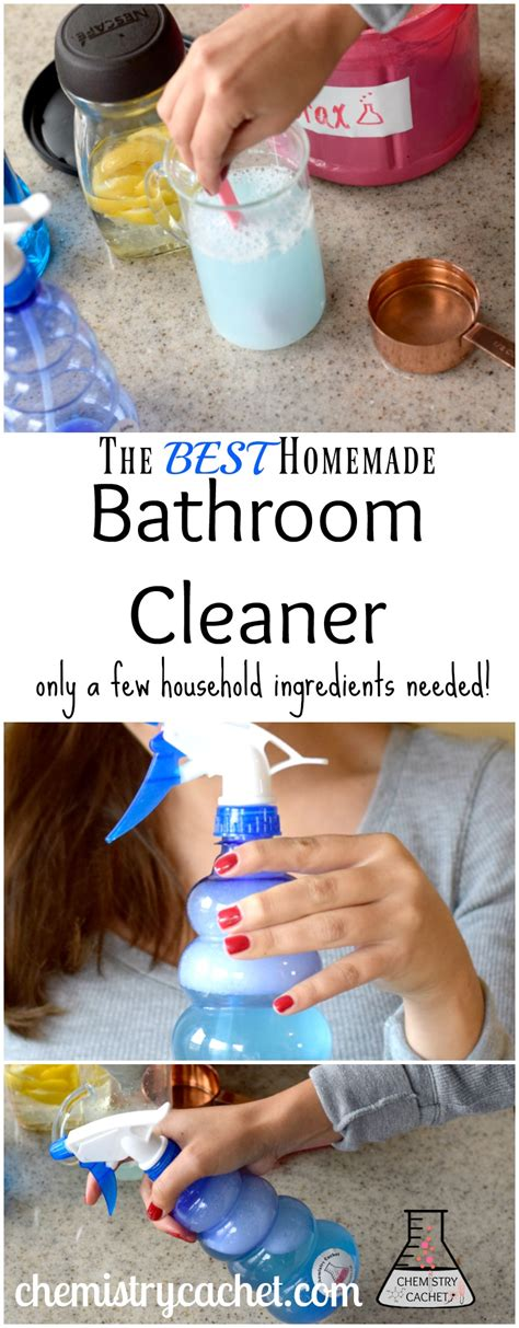 what is the best bathroom cleaner the best homemade bathroom cleaner scientifically proven