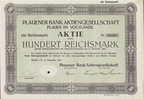 dt bank aktie hwp plauener bank aktiengesellschaft