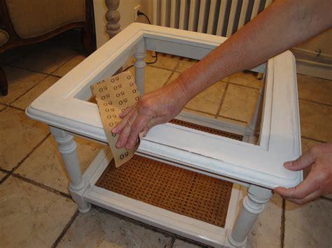 customiser une vieille table mode d emploi