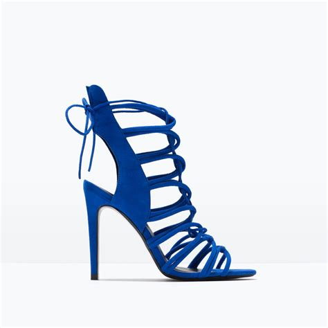 Zara Lock Suede Original Only Blue And Black fashion clones get that designer look for less