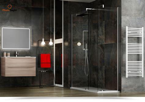 offerte box doccia cristallo box doccia 90x120 walk in cristallo trasparente
