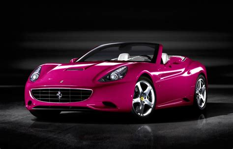 Pink For Your Car by Top 5 Pink Cars To Get Your Special For S