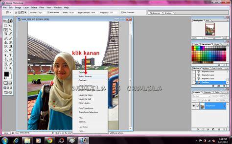 ali editor tutorial khalila tutorial photoshop background hitam pada gambar