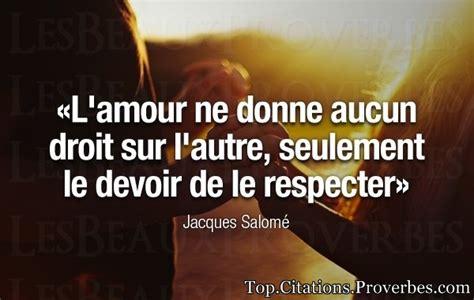 Court Resume Au Bonheur Des by Citation Amour L Amour Ne Donne Aucun Droit Sur L Autre