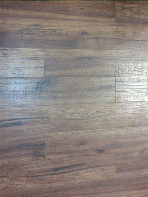 this is the distressed brown hickory laminate flooring