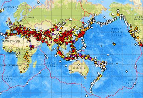earthquake history map earthquake map earth bing images