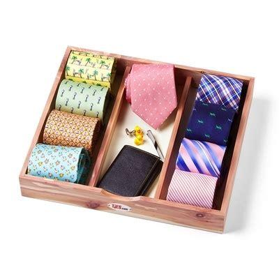 cedar tie box storage device by woodlore s day
