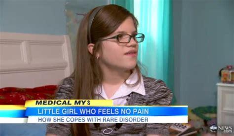 ashlyn blocker the girl who feels no pain nytimes amazing gene disorder tween feels no pain ny daily news
