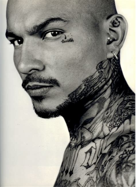 tattoo on neck gang 20 dark and real prison tattoo designs