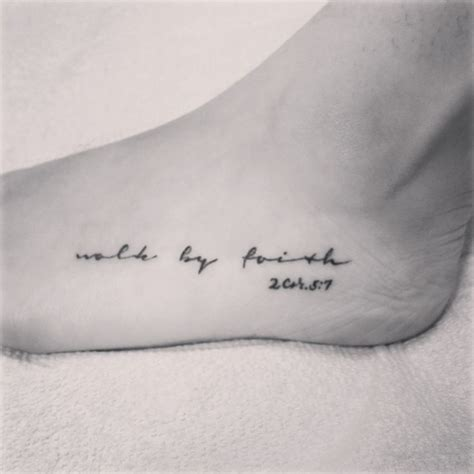 most meaningful tattoos 25 best ideas about faith foot tattoos on