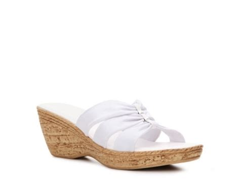 Wedges Mawar Rajut italian shoemakers whimsy italian sandals