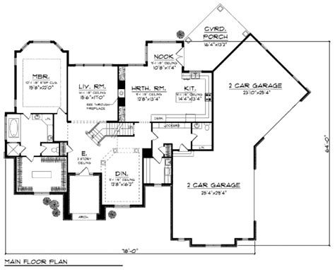 european style floor plans european style house plan 4 beds 3 5 baths 3606 sq ft