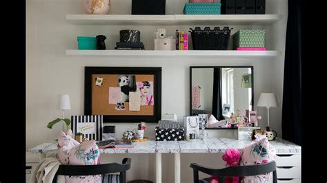 teen bedroom makeover  desk vanity diy room decor