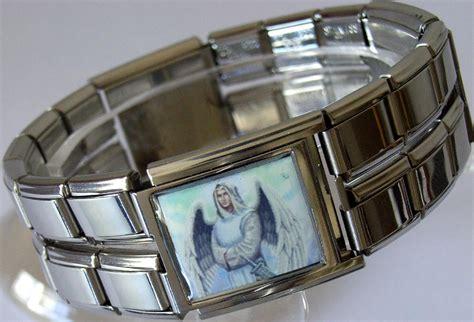 italian charm 18mm raphael band link bracelet ebay