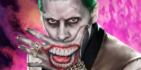 joker mouth tattoo jared leto s the joker appears on suicide squad empire