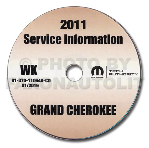 2011 Jeep Grand Laredo Owners Manual 2011 Jeep Grand Repair Shop Manual Cd Rom