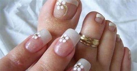 imagenes de uñas decoradas para 15 años manicura francesa con flores 21 dise 241 os de u 241 as
