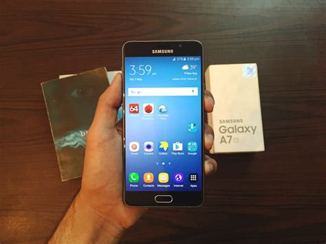Samsung Galaxy A7 Review samsung galaxy a7 2016 review the challenger