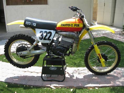 Suzuki Cz 250 1977 Suzuki Rm 250 Moto X Fox Team Bike Ams Racing