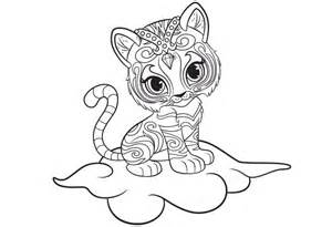 shimmer and shine coloring pages printable shimmer and shine f 228 rga och