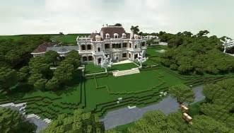 Backyard Basketball Download Crespi Estate Beautiful Mansion Minecraft House Design