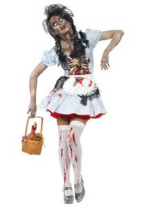 scary halloween costumes for girls scary zombie dorothy costume unique wizard of oz