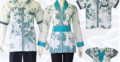 Pakaian Baju Seragam Batik 1 model baju batik sarimbit untuk pakaian seragam keluarga terbaru 2017