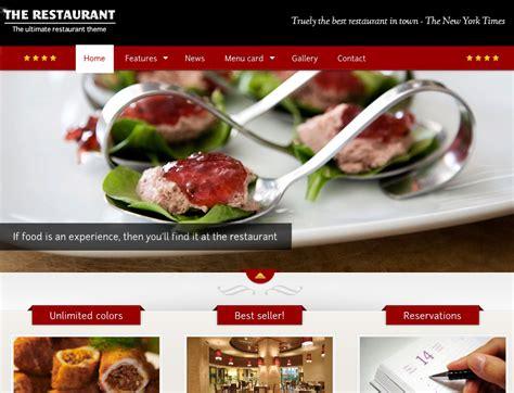 themes wordpress restaurant 10 attractive wordpress themes for cart66 wp solver