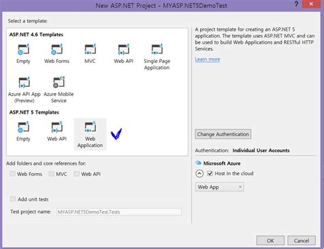 asp net asp net 5 crud using scaffolding and entity framework