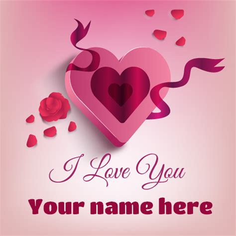 images of love with name i love you beautiful heart greeting with your name