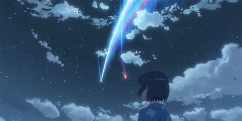 Anime Your Name by The Japanese Animated Feature Your Name Is Far Prettier