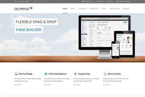 themeforest olympus 40 new wordpress themes released in may 2013