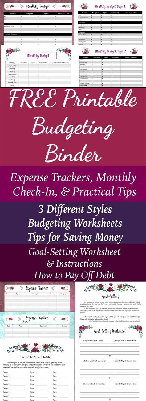 budgeting binder