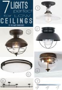 ceiling light options diy problems 7 lighting options for low shallow