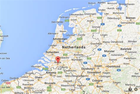 breda netherlands map where is breda on map netherlands world easy guides