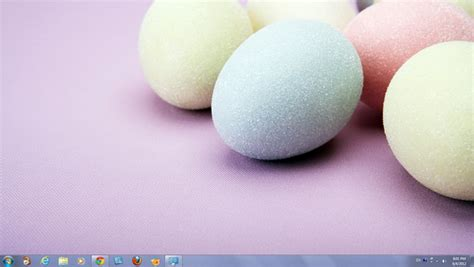 microsoft easter eggs decorated easter eggs theme for windows 7