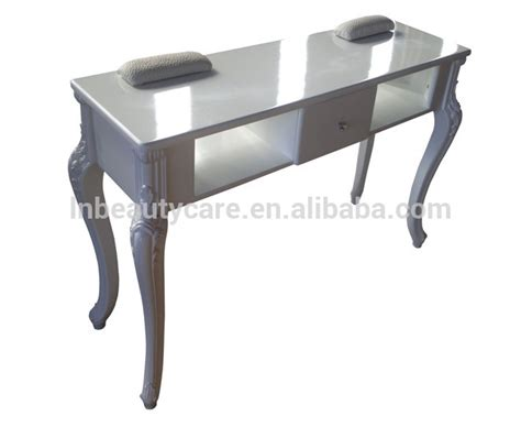 Table Salon Lne 098 Nail Table Manicure Desk For 2 Salon