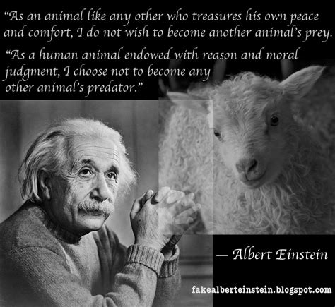 Neither Predator Nor Prey albert einstein neither predator nor prey