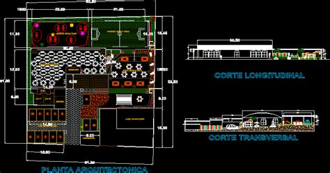 project kindergarten dwg full project  autocad