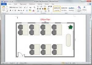 office layout design ppt free office plan templates for word powerpoint pdf