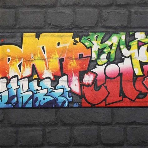 graffiti wallpaper border black graffiti wallpaper borders rasch 237900 new