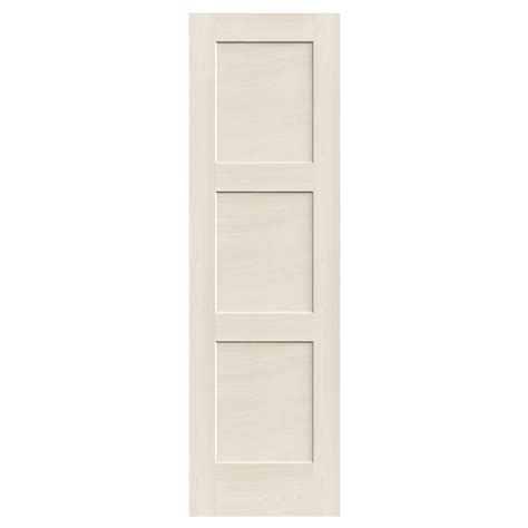 3 Panel Interior Door Reliabilt 3 Panel Solid Wood Interior Slab Door Lowe S Canada