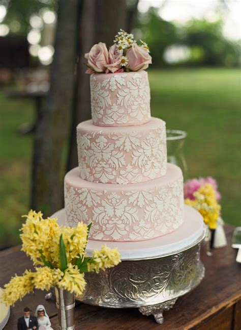 Vintage Wedding Cakes by Vintage Cake Toppers Evantine Design
