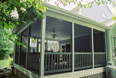 how to screen in a deck with no roof screen porches maryland washington dc va pa de