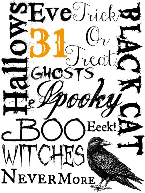 free printable halloween quotes best 25 halloween printable ideas on pinterest free