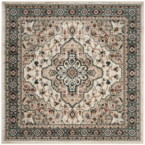 7 X 7 Area Rug by Safavieh Lyndhurst Beige 7 Ft X 7 Ft Square Area
