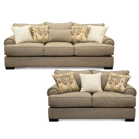 Living Room Sofa Bed Sets by Taupe 2 Living Room Set With Sofa Bed Bereta Rc