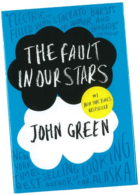 the in green books the fault in our by green the sleepless reader