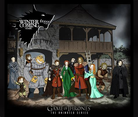 animated wallpaper game of thrones game of thrones the animated series 1 by toadman005 on