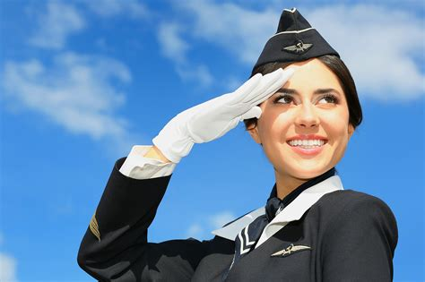 Why Do You Want To Be Cabin Crew by Photograph Portrait Of Beautiful Stewardess By
